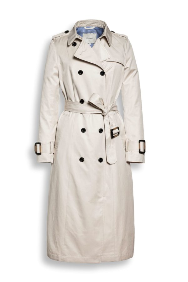 Trenchcoat i beige fra Beaumont