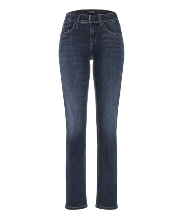 Tess straight jeans, bukse fra Cambio