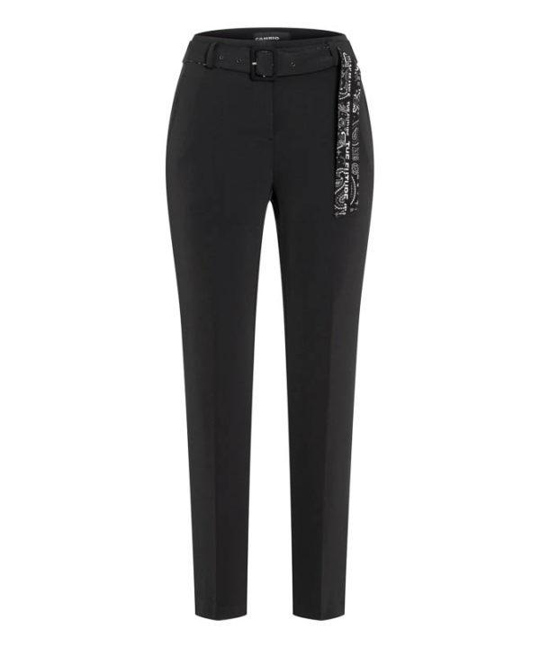 Selina bukse fra Cambio, finnes i sort og brun