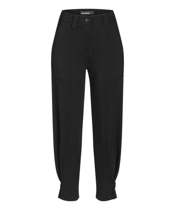 Malin bukse fra Cambio, finnes i sort og khaki