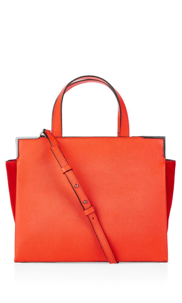 Veske fra Marc Cain, finnes i orange og sort