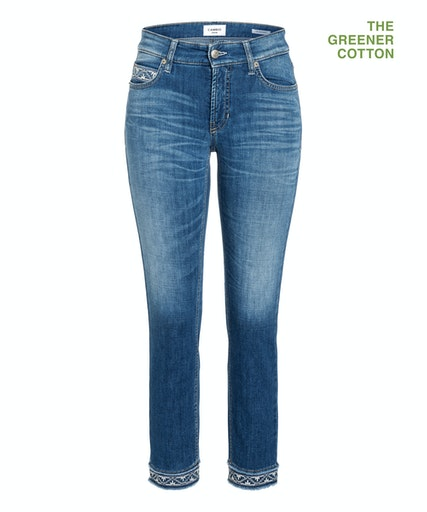 Paris cropped jeans fra Cambio