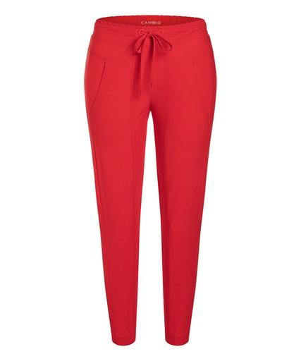 Jorden seam bukse fra Cambio, finnes i mørkeblå og rød