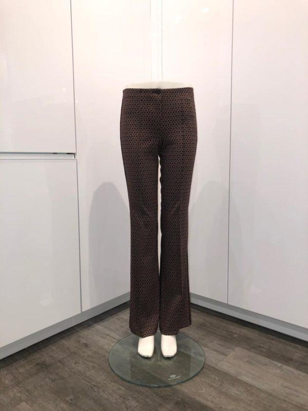 Ros Flared bukse fra Cambio med print